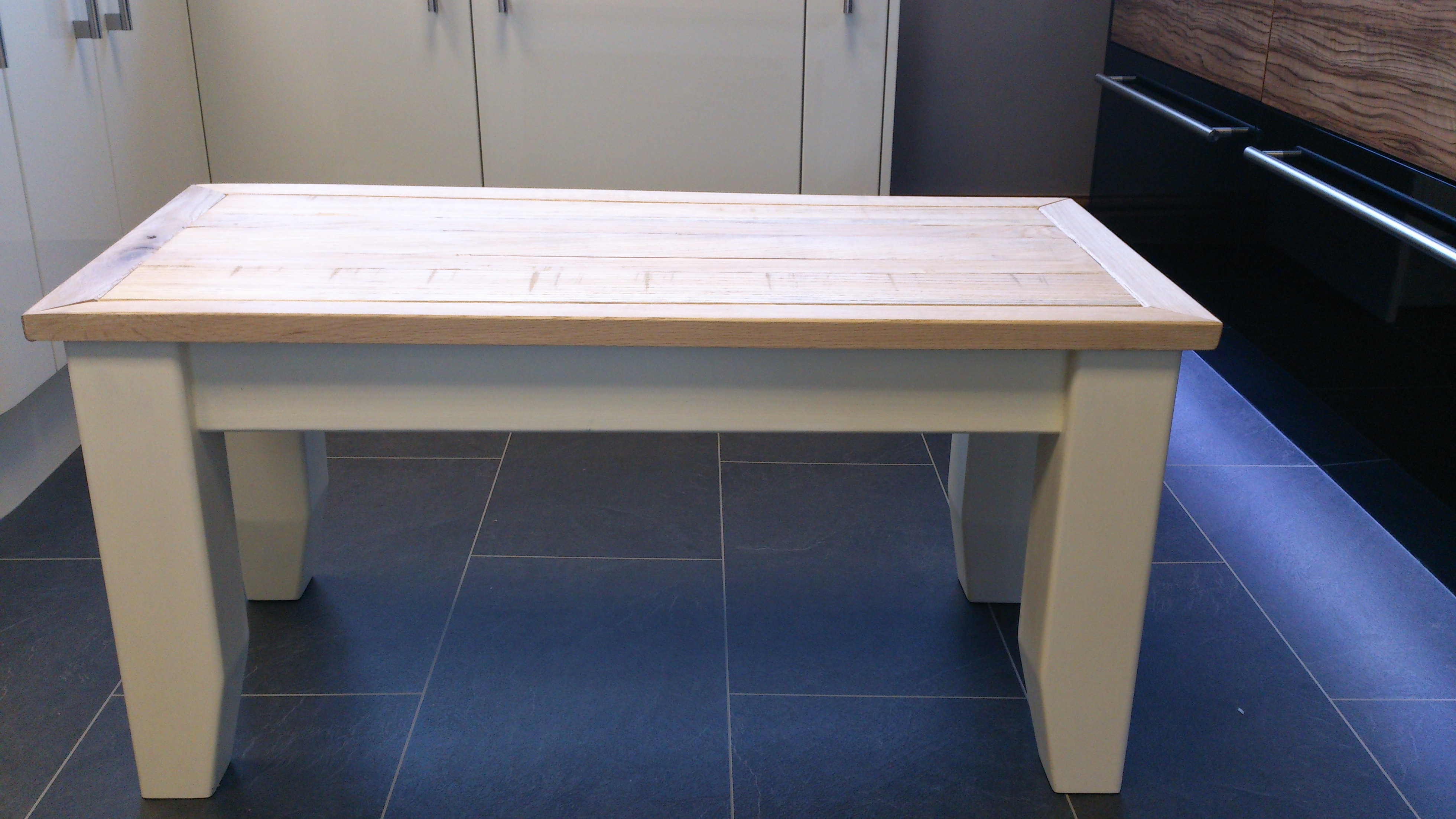 Bespoke Table Made From Reclaimed Oak
