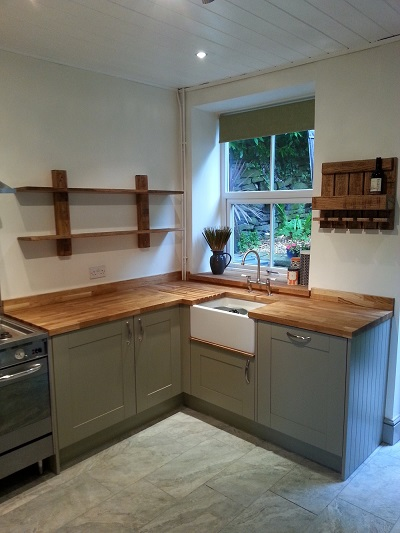 Kitchen in Hayfield, Derbyshire