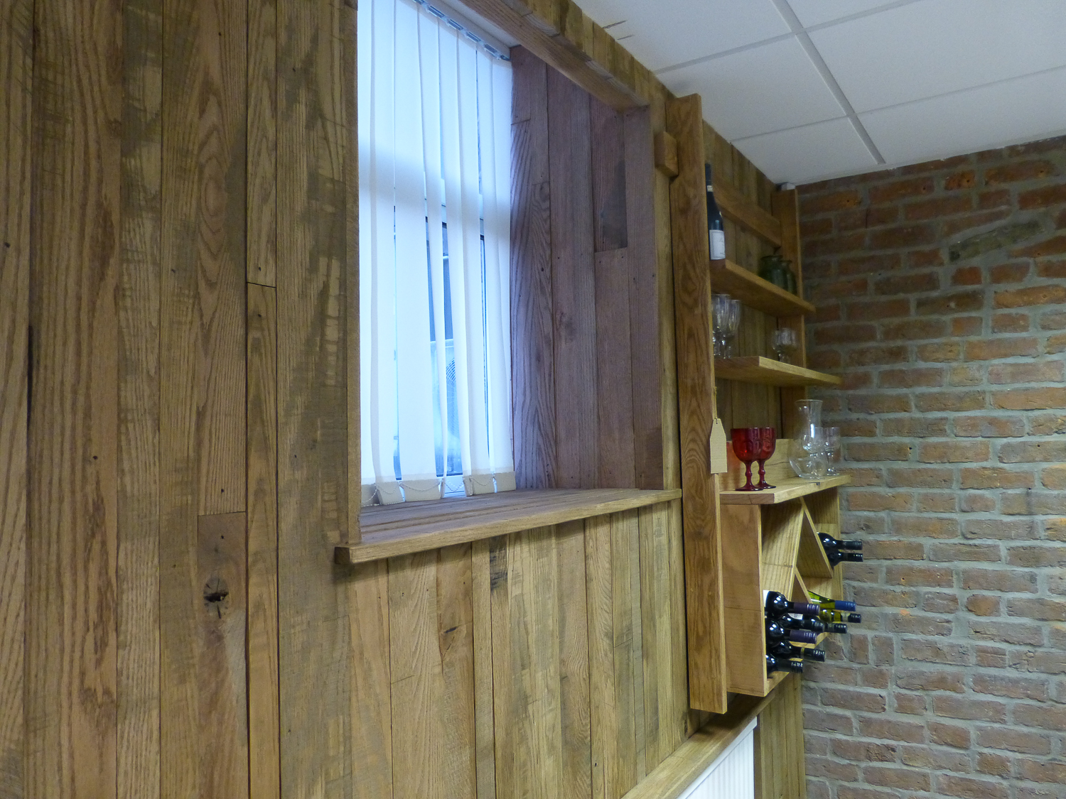 Oak Wall Covering