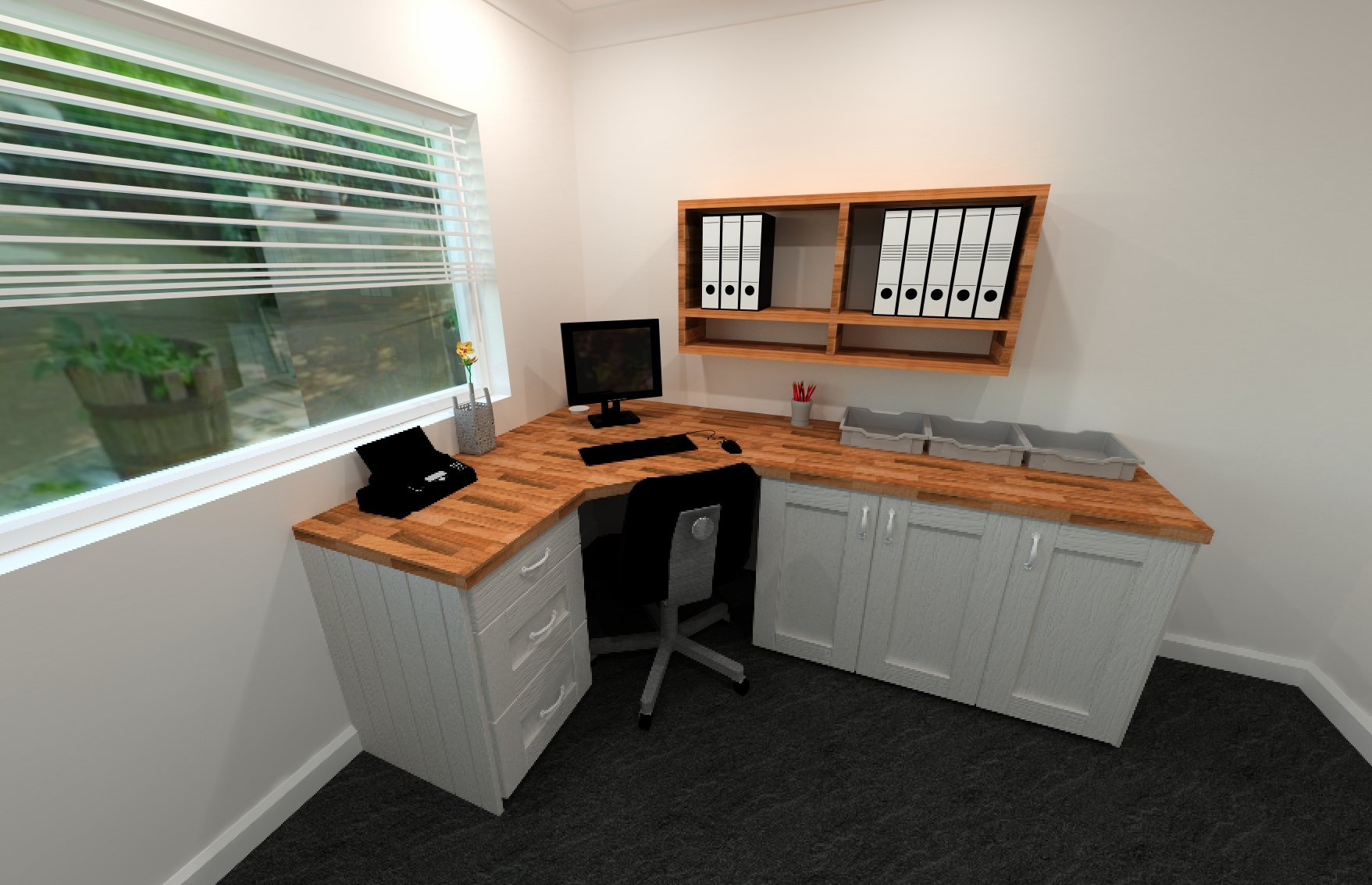 27 cool home office furniture uk for Home office furniture images