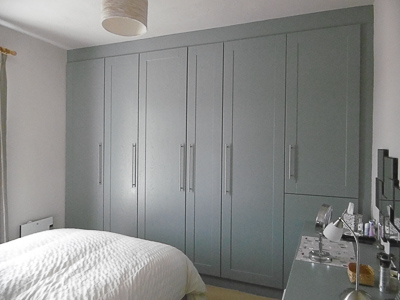 Fitted bedroom in New Mills, Derbyshire