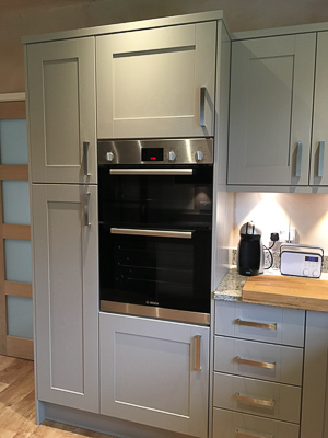 Kitchen in Disley. Cheshire