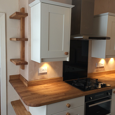 Kitchen designed & built by Kinder Kitchens