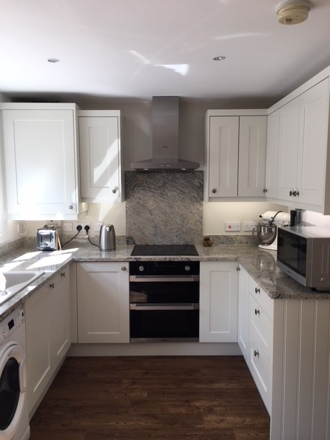 Newly installled kitchen by Kinder Kitchens