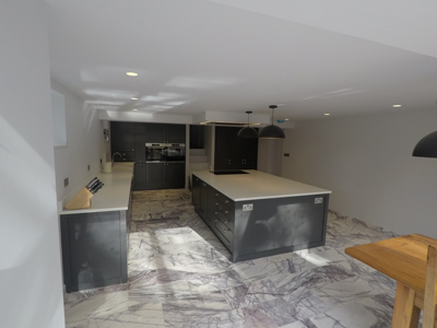 New Kitchen Design in Derbyshire