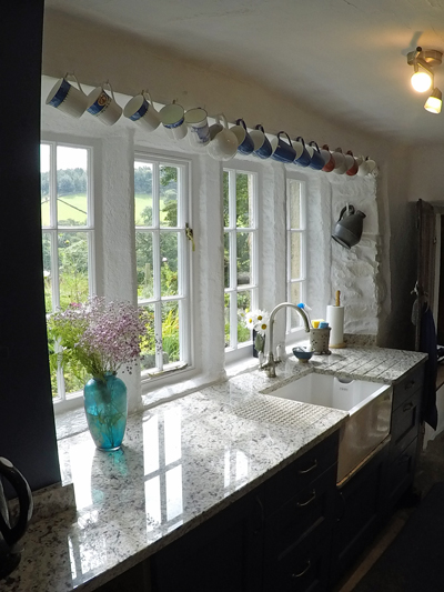 New kitchen in Hayfield, Derbyshire