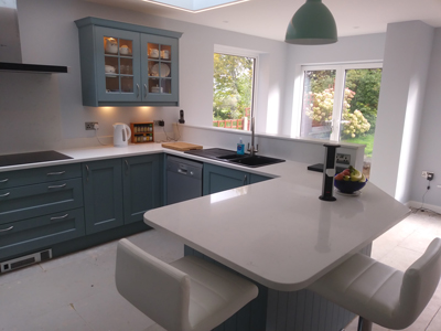 New kitchen in Disley, Cheshire