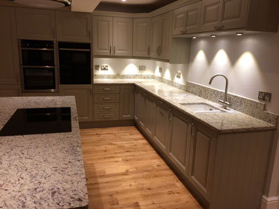 New Kitchen by Kinder Kitchens in Bramhall, Cheshire